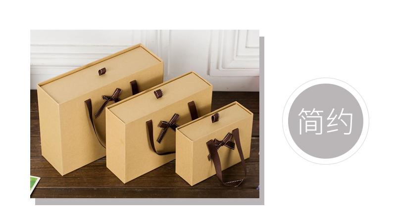 抽拉式牛皮纸盒案例鉴赏