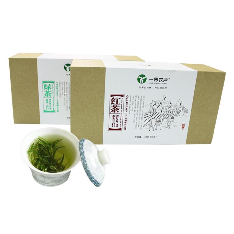 一界農夫牛皮紙茶葉包裝盒