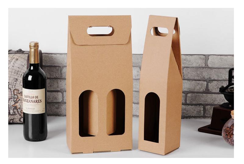 牛皮纸红酒盒包装鉴赏