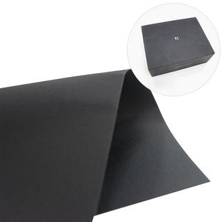 環保黑卡紙 廠家供應黑卡紙 禮品盒手提袋專用紙