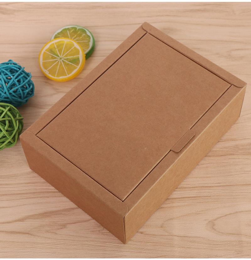阿胶糕红糖牛皮纸包装盒案例