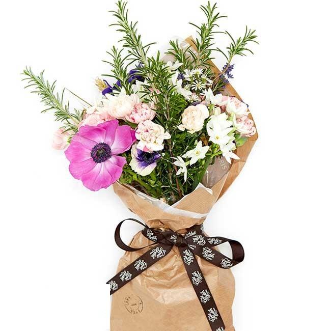 牛皮纸包鲜花